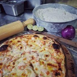 Pizza Shrimp & champ