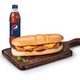 Combo Sándwich Milanesa y Cola