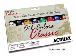 Oleo Colores Basicos 20Ml Cjax08Un 14108