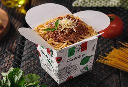 Spaguetti a la Bolognesa