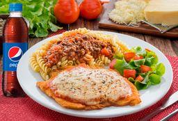 Milanesa de  Pollo a la Parmesana