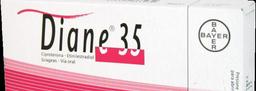 Diane 35 Grageas (2 mg / 0.035 mg)