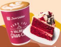 2 Cappuccino Medianos 12oz + 2 Tortas Red Velvet
