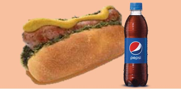 Choripán + Pepsi 400 mL