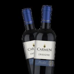 Promo Vino Carmen Merlot 750 mL X2