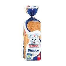 Molde Pan Blanco Bimbo 580 g
