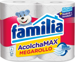 Papel Familia Acolchado X4
