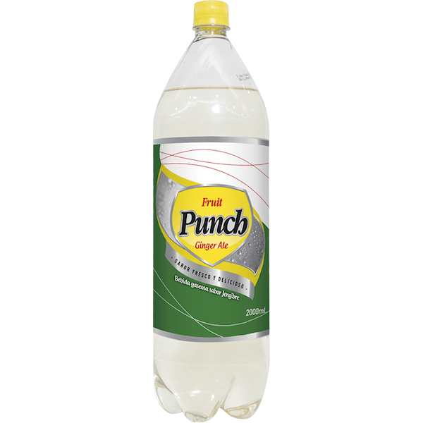 Punch Agua Ginger Ale
