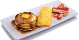 Pancake + Omelet + Tocino