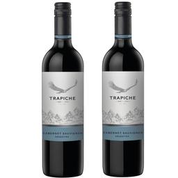 2 Vinos Astica de Trapiche tintos Argentinos