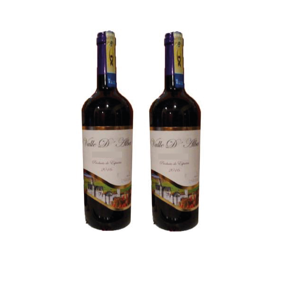 2 Vinos Valle de alba tempranillo Españoles