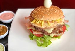 Combo Hamburguesa Triple Carne