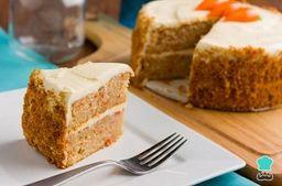 torta de zanahoria (porción)