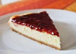 cheesecake de frutos rojos (porción)