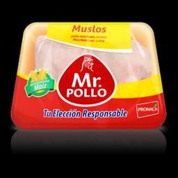 Muslos En Bandeja Mr. Pollo.