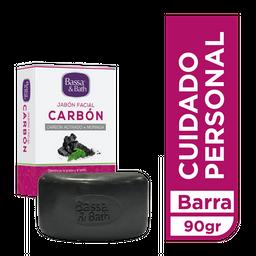 Bassa Jabón Facial & Bath De Carbón