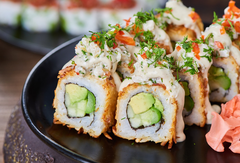 Sushi Cheese Roll