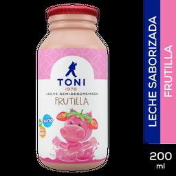 Leche Frutilla Toni