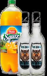 Twin Pack Vodka Vezha