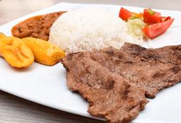 Menestra con Carne