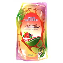 Aseptic Jabón Liquido Manos y Cuerpo Frutos Rojos Doypack