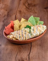 Nacho Cheddar Burrito