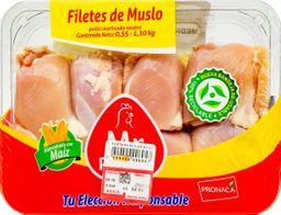 Mr. Pollo Filetes De Muslo de Pollo