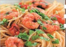 Spaguetti Camarones