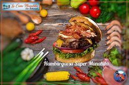 Hamburguesa Super Manaba