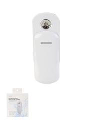 Mini Vaporizador Facial Con Spray Para Hidratar el Rostro Blanco