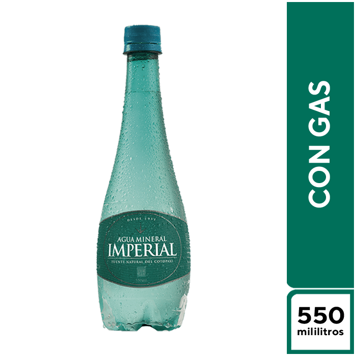 Imperial Mineral con Gas 550 ml