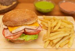 Hamburguesa Pollo
