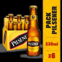 Pilsener Cerveza Twist Off X 6