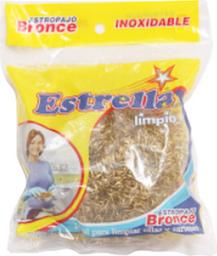 3x2 Estrella Fibra Bronce
