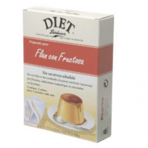 Diet Flan Con Fructosa