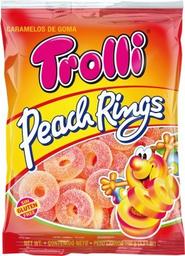 Trolli Gomas Peach Rings Precio Especial