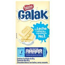 Galak Leche De Chocloate Blanco