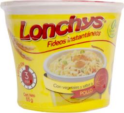 Lonchys Fideo Instantaneo Pollo