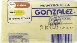 González Mantequilla Con Sal