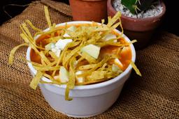 Sopa de Tortilla Azteca