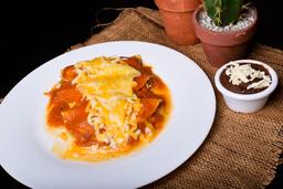 Enchiladas Entomatadas