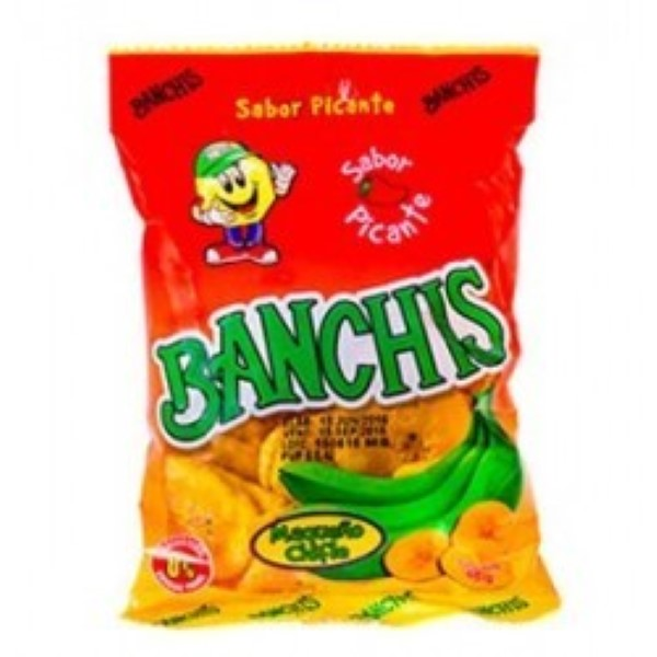 Banchis Snack Chifles Picantes
