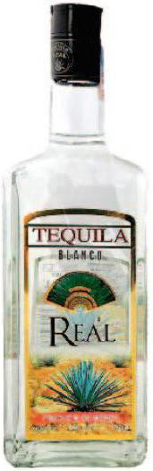 Real licor tequila.
