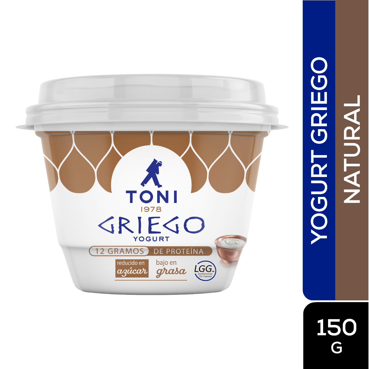 Yogurt Toni Yogurt Griego Natural