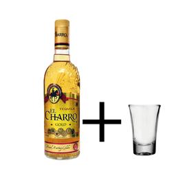 Tequila El Charro Gold + Shot