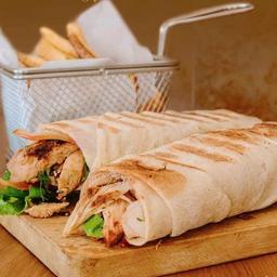 Dos Shawarmas de Pollo