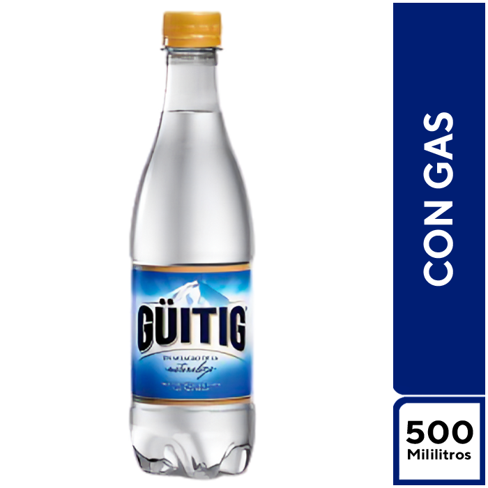 Guitig Con Gas 500 ml