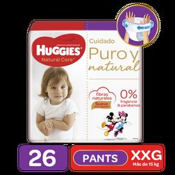 Huggies Pants Natural Care Xxg