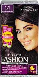 Color Fashion 1.1 Negro Azulado Intenso