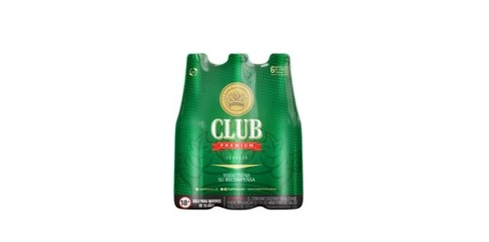 Club Platinum Cerveza Club Verde 330Ml X6